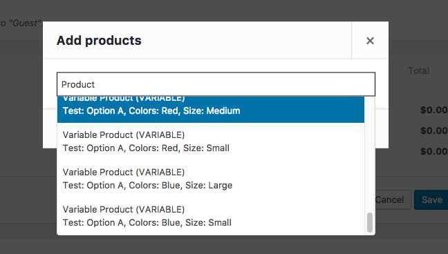 Altered Results from AJAX Product Search for Variable Products - variable product information
