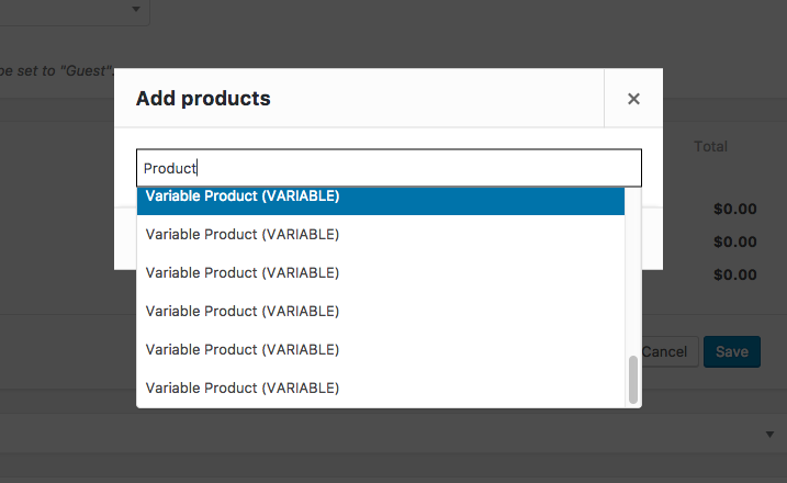 Uninformative AJAX Results for Variable Products - variable product information